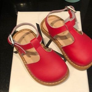 Freshly picked cherry clogs/ Newport sandal